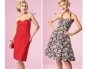 Vintage by B6019 retro Butterick sewing pattern