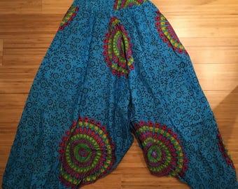Handmade Yoga Afghani Pants