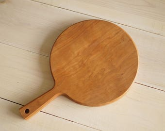 Round Cherry Cutting Board