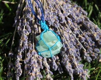 Custom Wrapped Stone Necklace