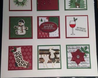 Christmas Decor Frame