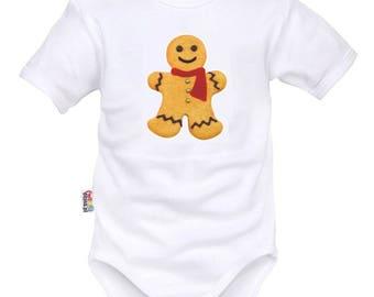 Christmas Baby Bodysuit: Tibiscuit