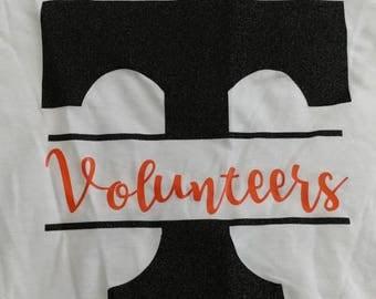 Glitter Tennessee Vols T-shirt
