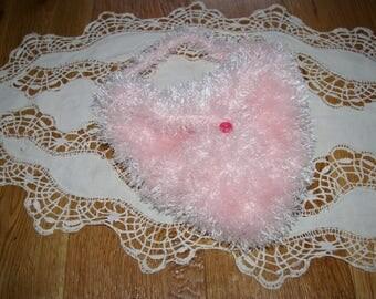 Pink small bag crochet for baby girl