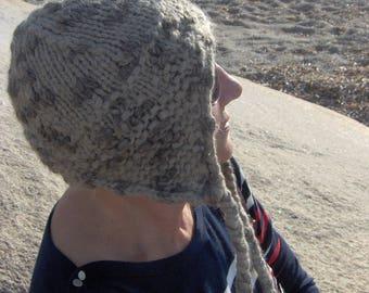 Heather grey Peruvian Hat