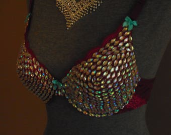 Party Time crystal bra 34 B