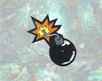 Bomb Patch Patch Iron on Patch Sew On Patches