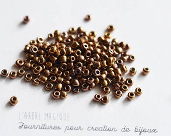 10g seed shiny more or less 1200 beads 2 mm