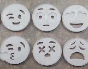 Emoji Cookie Cutter 10 set