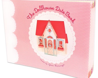 The Dollhouse Date Book, Birthday Reminder Book, Birthday and Anniversary Date Book, Miniature Themed Birthday Book