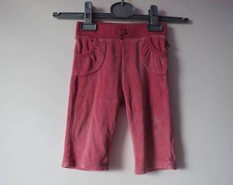 383 - pants raspberry new 6 months to 12 months ebondy