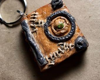 Hocus Pocus Spell Book Keychain
