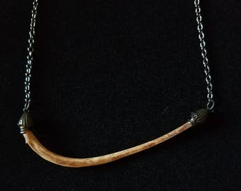 Cat Rib Necklace 20""