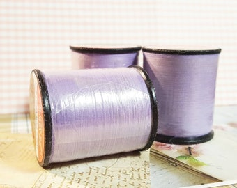 Orchid Color Thread / Polyester Thread on 200 yard Spools / Sewing Thread