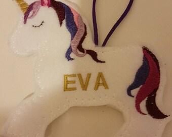 Unicorn decoration personalised