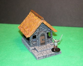 "Dungeons and Dragons Terrain ""Tiny Stone House"""