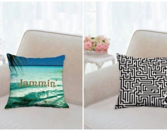 Jammin' Decorative Pillow