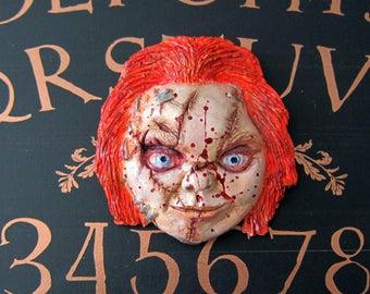 Chucky Sculpture Magnet