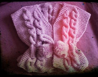 Vest sleeveless pink 3 months