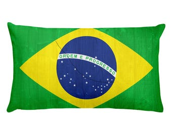 Brazil design Rectangular Pillow