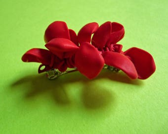 Balloon Bow French Barrette