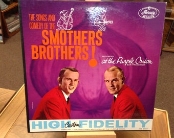 Smothers Brothers at the Purple Onion   Vinyl Album