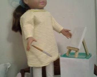"""18"""" doll Painting Smock 210E"""
