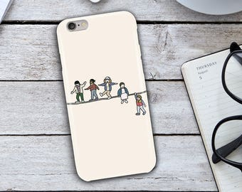 Acrobats the Fleas iPhone Case,Stranger Things Acrobats the Fleas iPhone 7 Plus Case,iPhone 6 Case,iPhone 6/6s Case