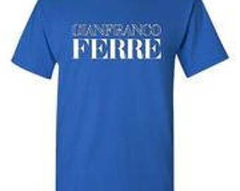 Gianfranco Ferre Royal Blue T-Shirt