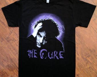 ROBERT SMITH the cure shirt