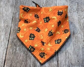 Halloween Owl Dog Bandana