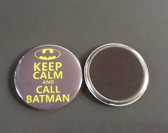 The product of 56 MM.  Keep calm And call Batman