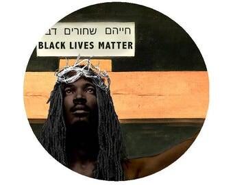 CRUCIFIED BLACK JESUS Stole