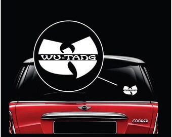 Wu Tang Clan Band Car Window Decal Sticker