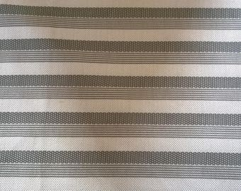 Fabric polyester grey Pinstripe 157 x 75