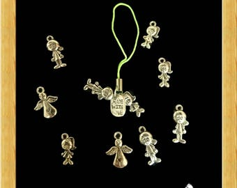 Hand Made Charms - Silver Family Representation