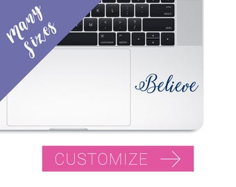 Laptop Name Stickers, Laptop Name Decal, Stickers for Laptops, Macbook Stickers, Custom Laptop Sticker, Cute Laptop Stickers, Name Decal