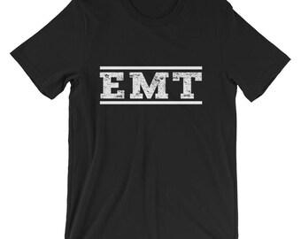 Emergency Medical Technician Tee Shirt, EMT Shirt, Emergency Medical Paramedic Ambulance  For Men and Women T-Shirt, EMT Gift