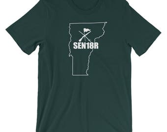 Vermont Color Guard 2018 Shirt, Graduating Senior 2018 Color Guard, Vermont State ColorGuard Shirt, SEN18R Color Guard Gift