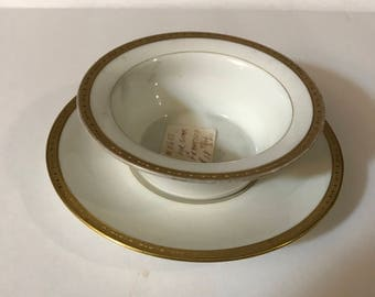 Vintage Saucer and plate, Gumps Co.