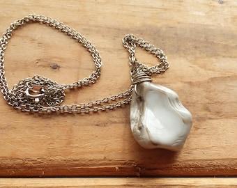 Stone Pendant Natural Stone Gemstone Pendant Gemstone Necklace