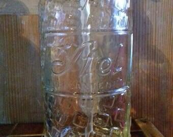 """Glass siphon Seltzer water """"Scott"""" old Bottle vintage sheer"""