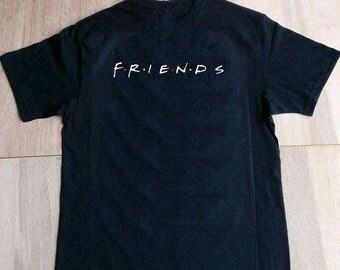 Friends TV Show Clothing Friends Tv Show Shirt Friends TV Show Tshirt Friends TV Show T-shirt Friends tv Show T Shirt S-2XL
