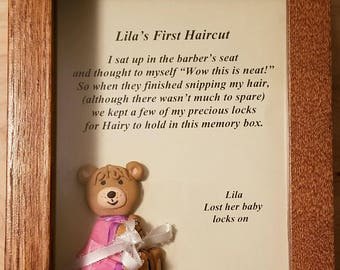 Babys First Hair, Baby First Keepsake, Baby First Year Milestones, Cute Keepsake Baby Gift, Gift New Parents, Lock of Hair, First Haircut