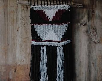 Geometric Handwoven Wall Hanging