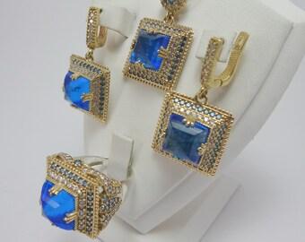 5 color sets,silver jewelry sets, wedding sets, party, 925 sterling silver sets, prom, gift, jewelry sets,bridal set