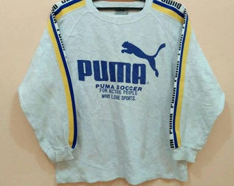 PUMA sweatshirt pullover spellout big logo