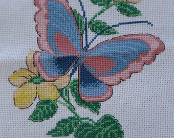 Butterfly Cross Stitch 20x20cm