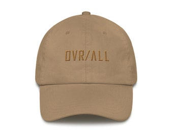 OVR / ALL Stone Dad Cap