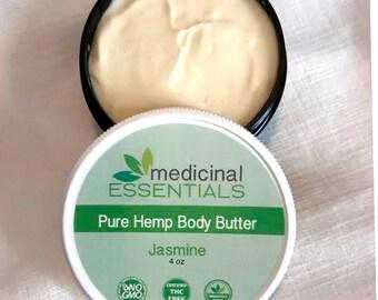 Medicinal ESSENTIALS Pure Hemp Body Butter • Jasmine